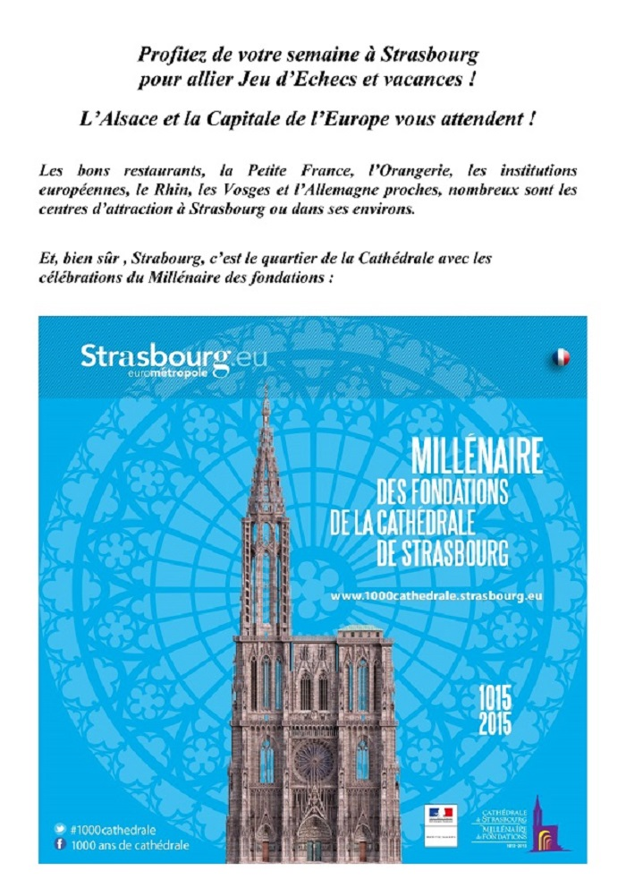 Strasbourg vous attend